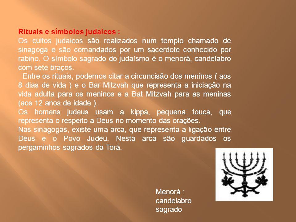 Rituais e símbolos judaicos :