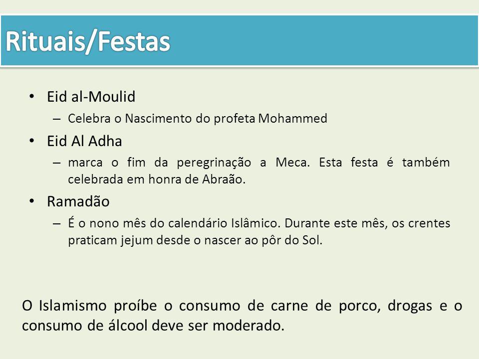 Rituais/Festas Eid al-Moulid Eid Al Adha Ramadão