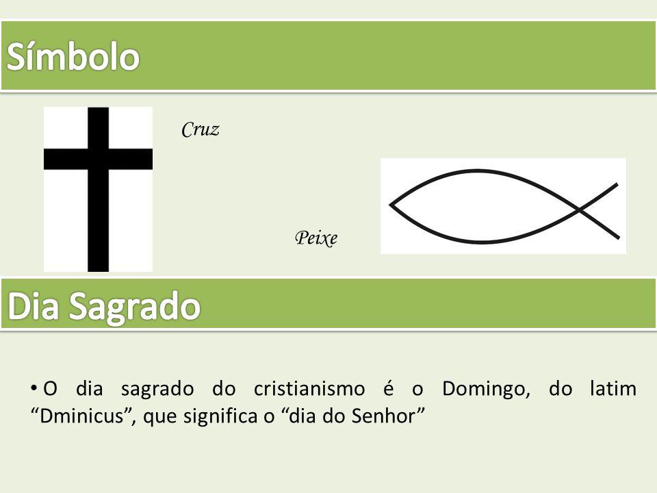 Símbolo Dia Sagrado Cruz Peixe