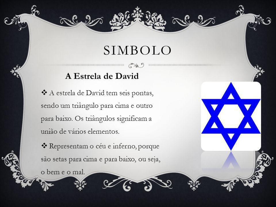 Simbolo A Estrela de David