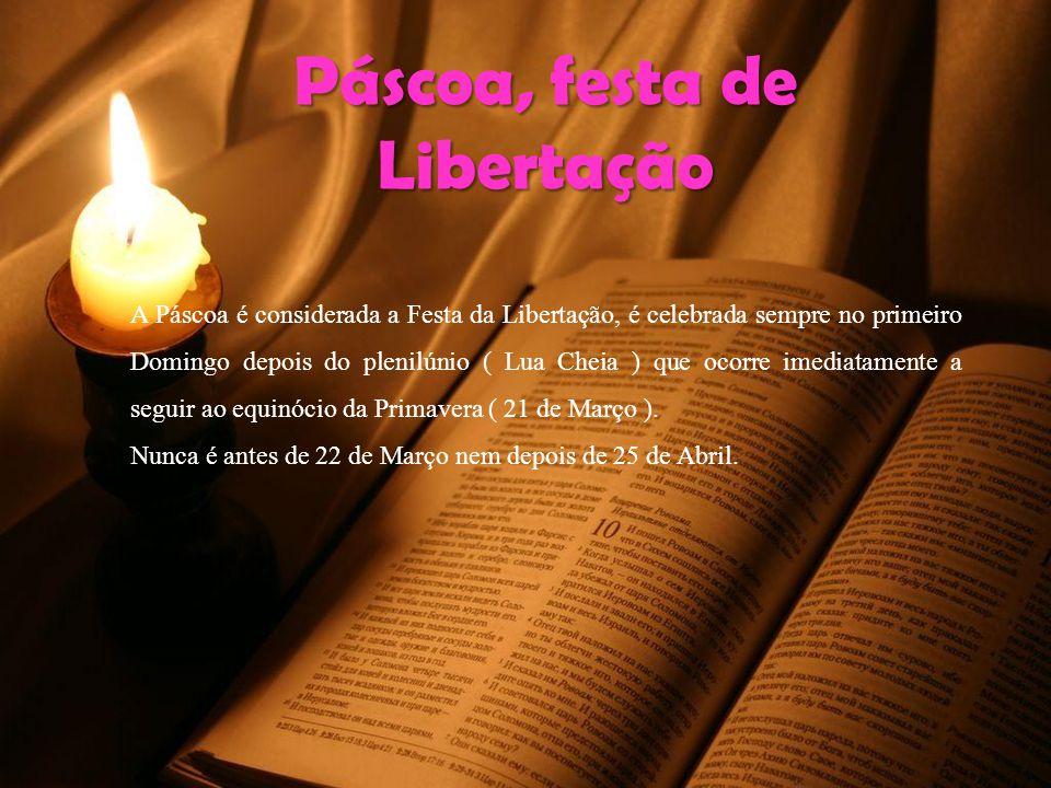 Páscoa, festa de Libertação