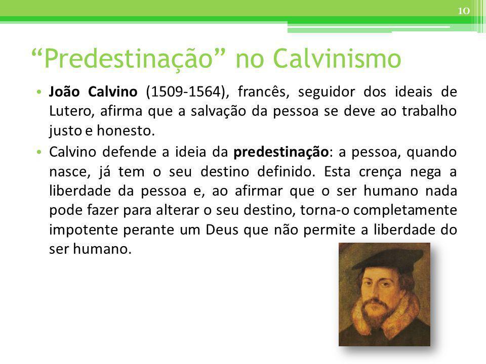 Predestinação no Calvinismo