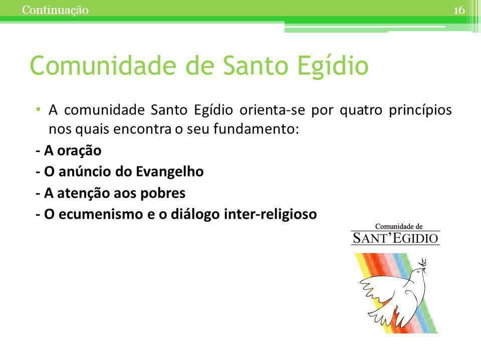 Comunidade de Santo Egídio