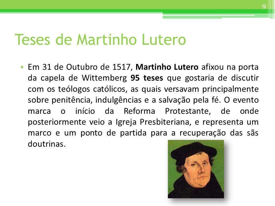 Teses de Martinho Lutero
