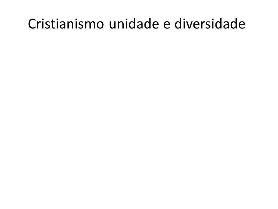 Cristianismo unidade e diversidade