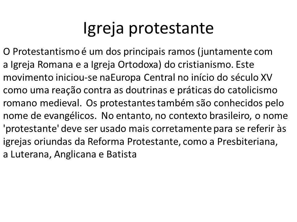 Igreja protestante