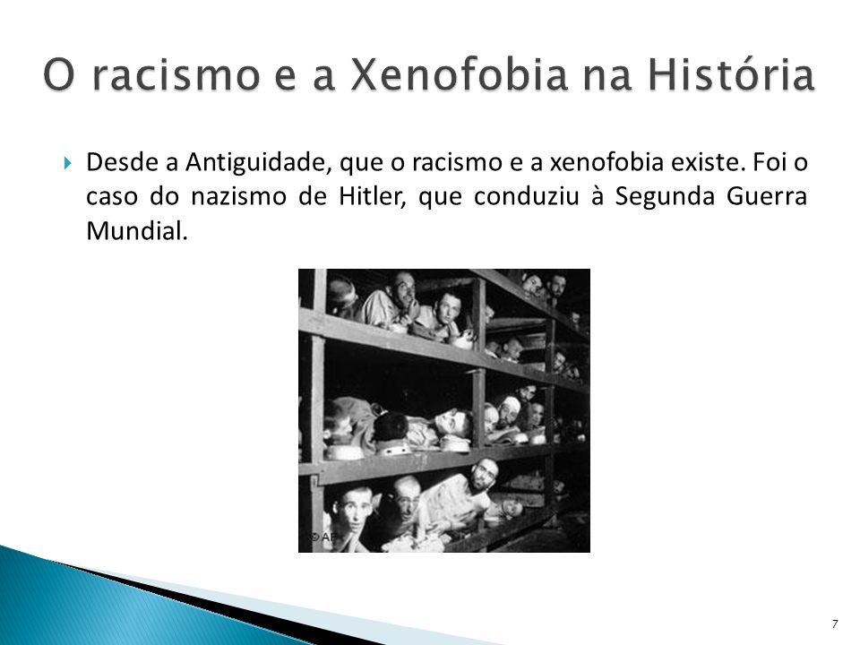 O racismo e a Xenofobia na História