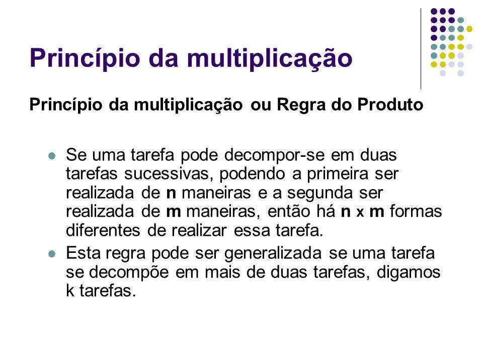 Princípio da multiplicação
