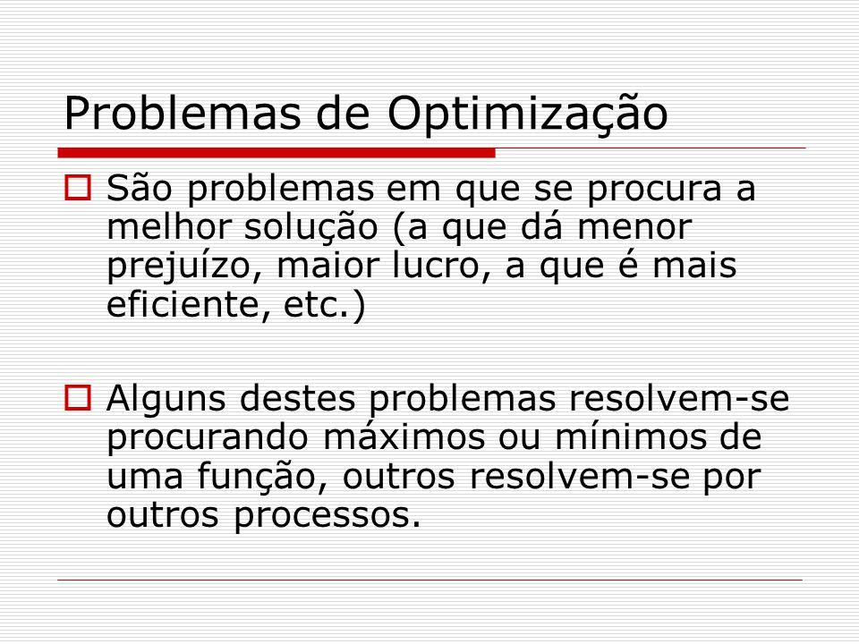 Problemas de Optimização