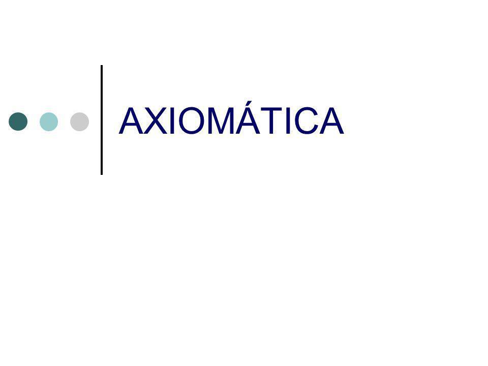 AXIOMÁTICA