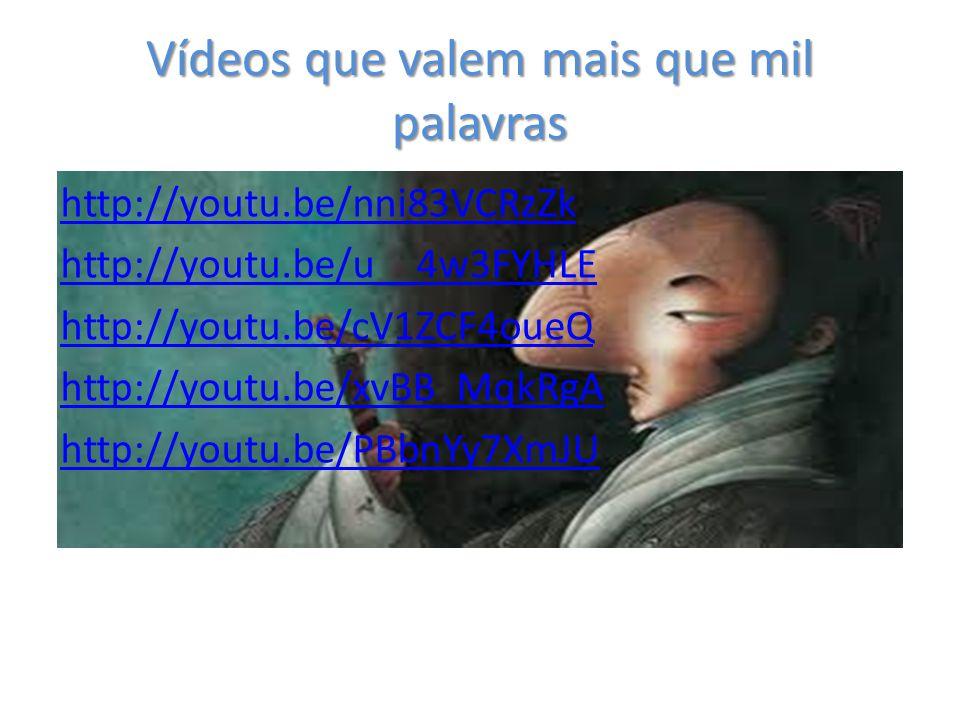 Vídeos que valem mais que mil palavras