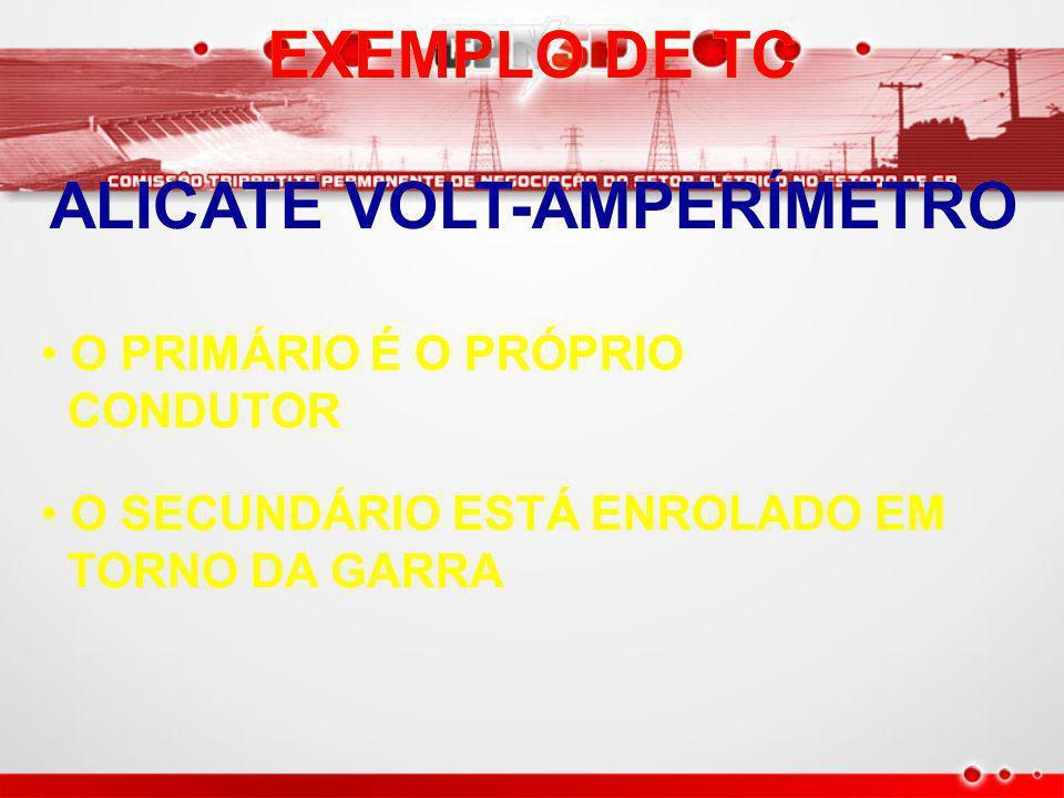 ALICATE VOLT-AMPERÍMETRO
