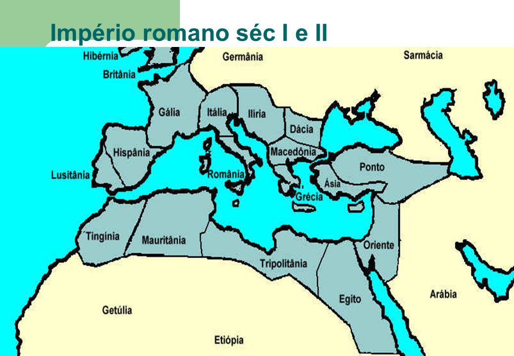 Império romano séc I e II
