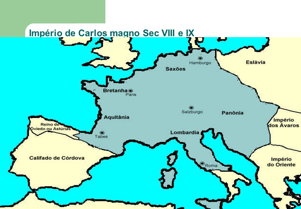 Império de Carlos magno Sec VIII e IX