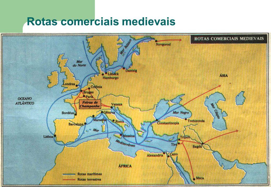 Rotas comerciais medievais