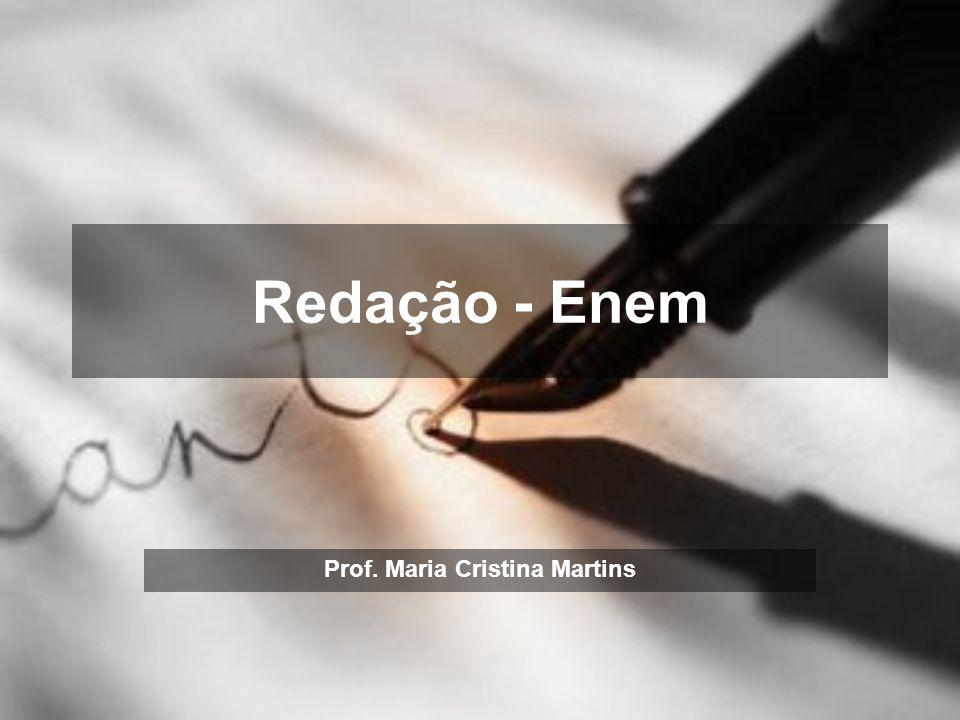 Prof. Maria Cristina Martins