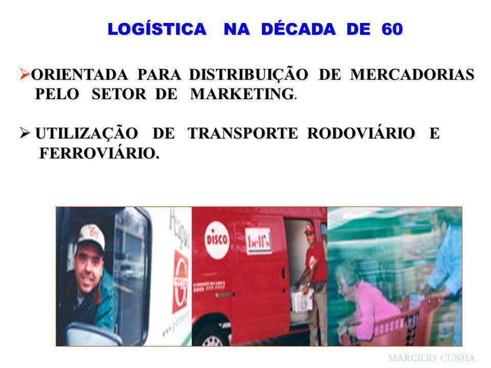ORIENTADA PARA DISTRIBUIÇÃO DE MERCADORIAS PELO SETOR DE MARKETING.
