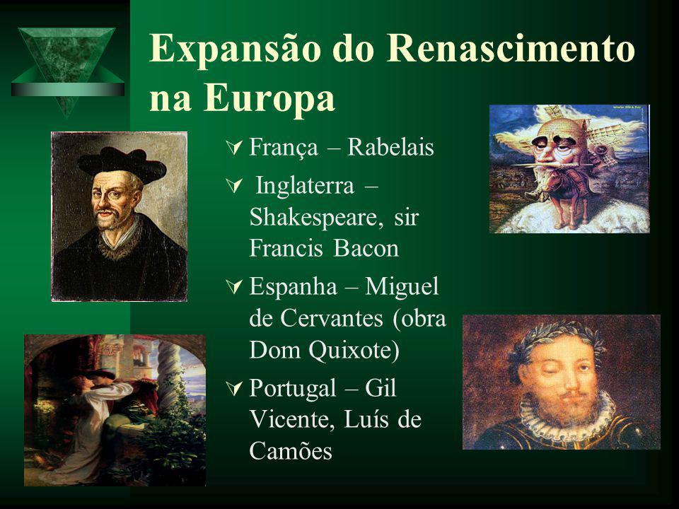 Expansão do Renascimento na Europa