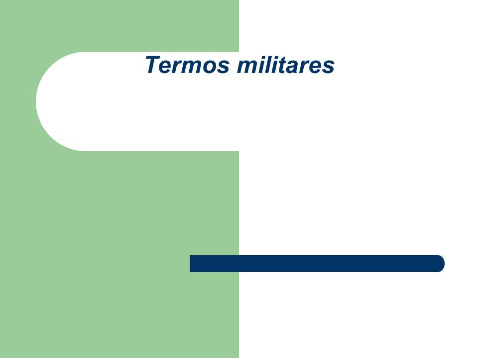 Termos militares
