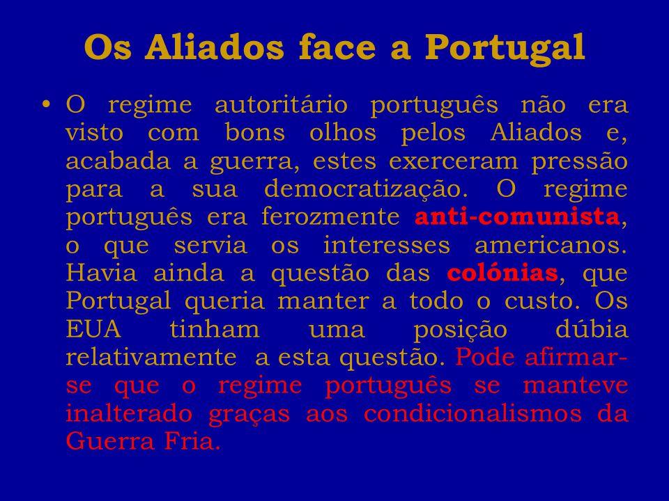 Os Aliados face a Portugal