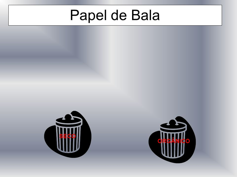 Papel de Bala SECO ORGÂNICO