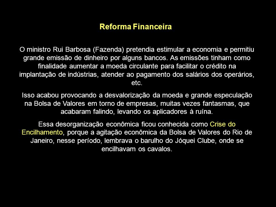 Reforma Financeira