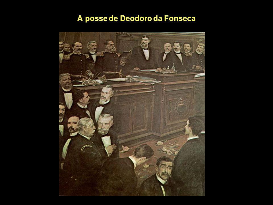 A posse de Deodoro da Fonseca