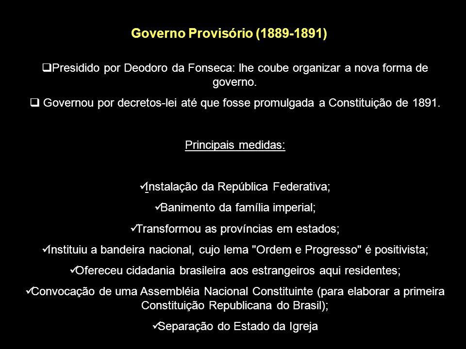 Governo Provisório (1889-1891)