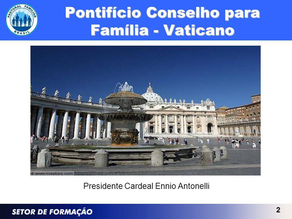 Pontifício Conselho para Família - Vaticano