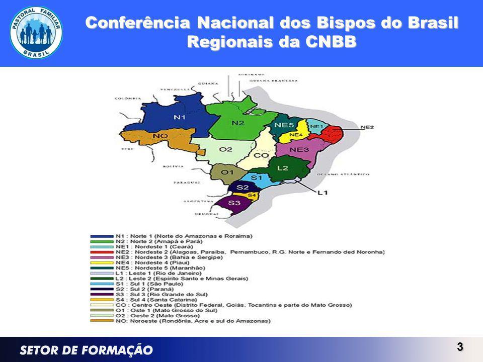 Conferência Nacional dos Bispos do Brasil Regionais da CNBB