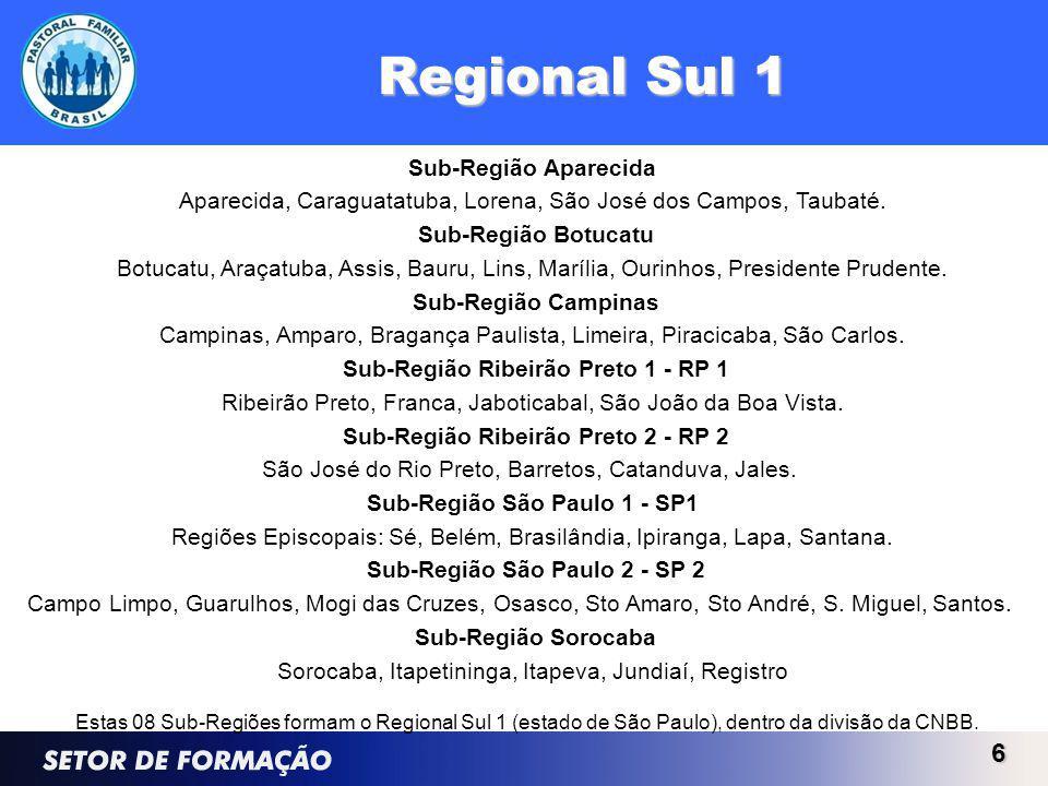 Sub-Região São Paulo 1 - SP1