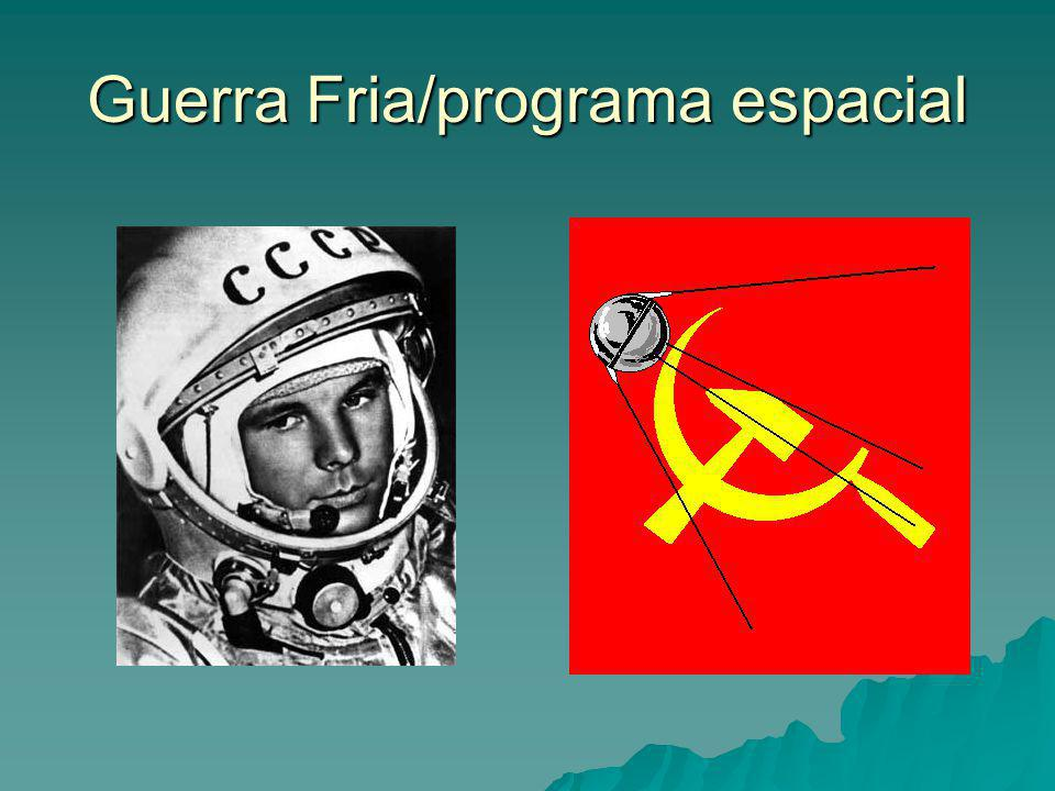 Guerra Fria/programa espacial