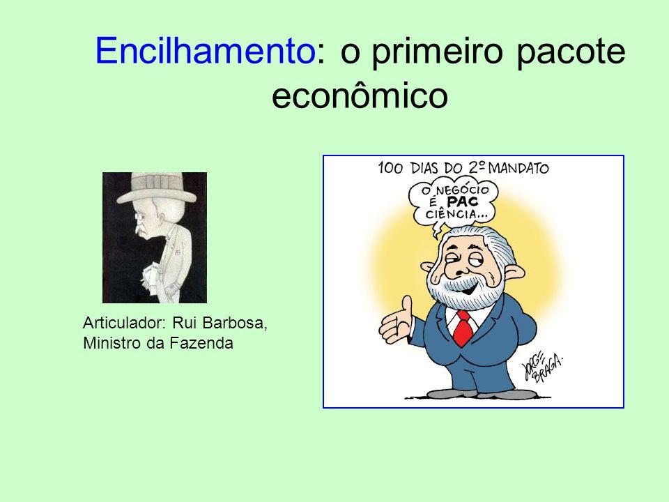Encilhamento: o primeiro pacote econômico