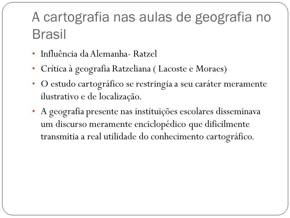 A cartografia nas aulas de geografia no Brasil
