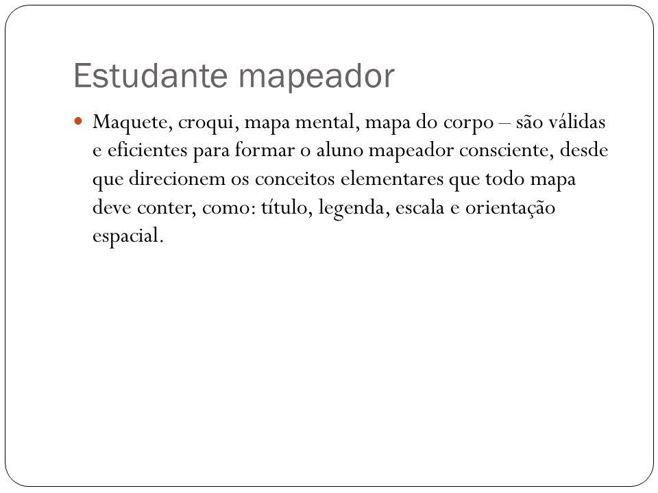 Estudante mapeador