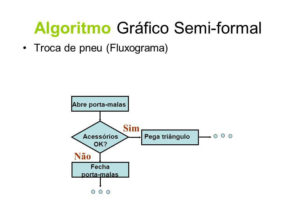 Algoritmo Gráfico Semi-formal