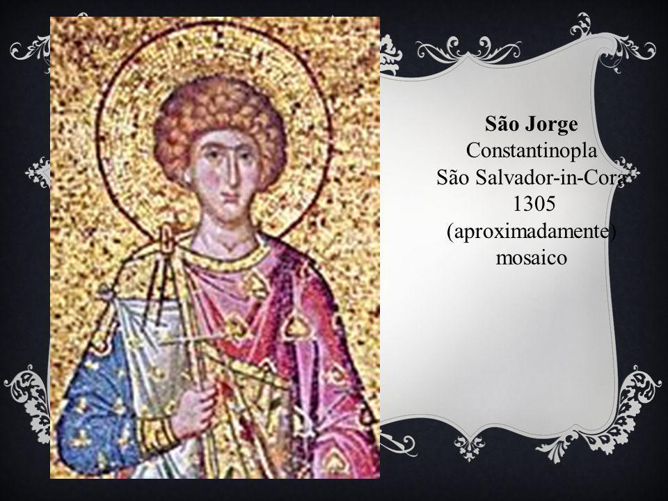 São Jorge Constantinopla São Salvador-in-Cora 1305 (aproximadamente) mosaico
