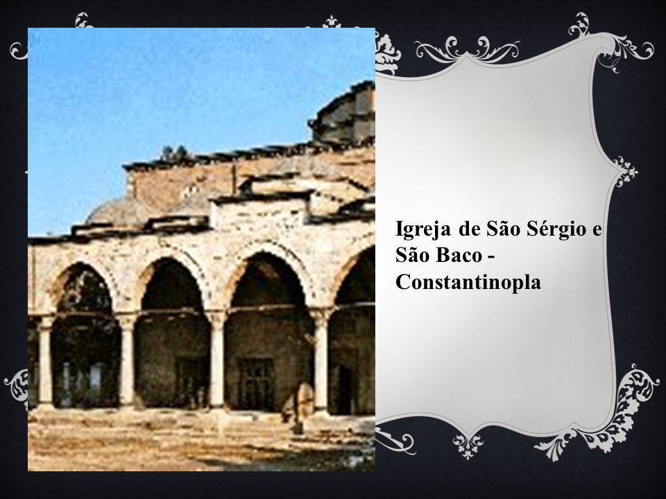 Igreja de São Sérgio e São Baco - Constantinopla