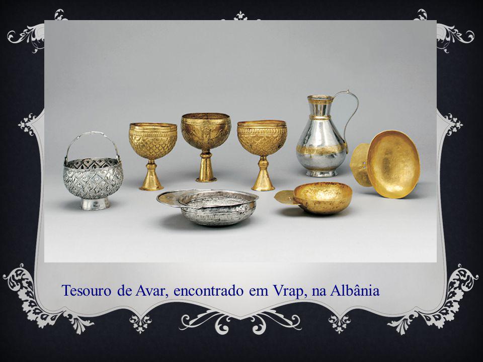 Tesouro de Avar, encontrado em Vrap, na Albânia
