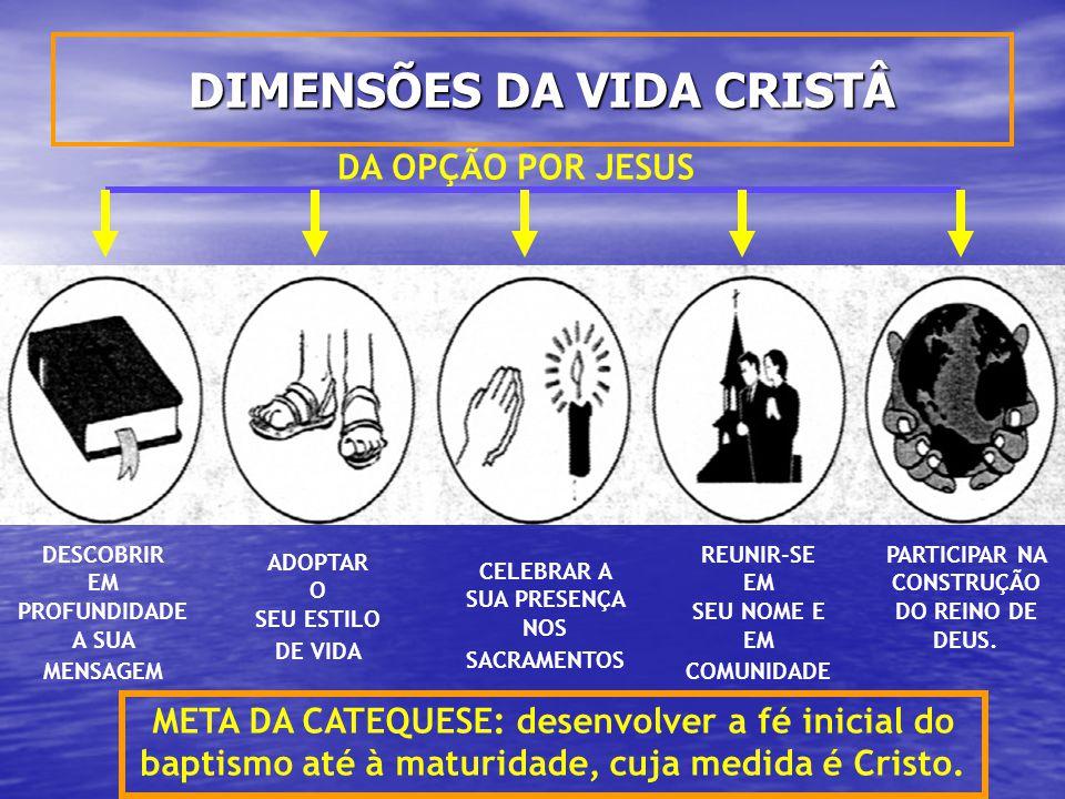 DIMENSÕES DA VIDA CRISTÂ