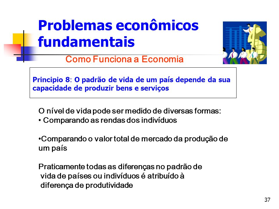 Problemas econômicos fundamentais