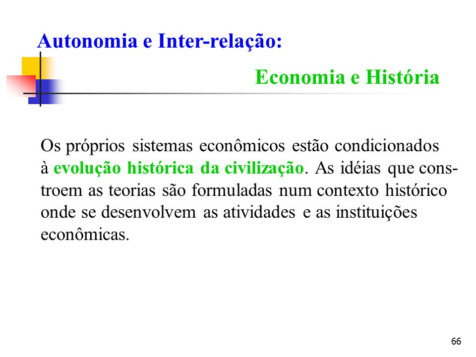 Autonomia e Inter-relação: