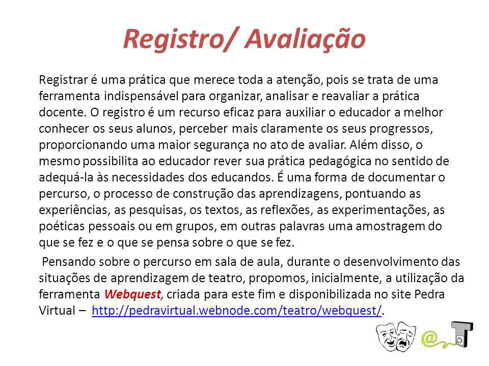 Registro/ Avaliação