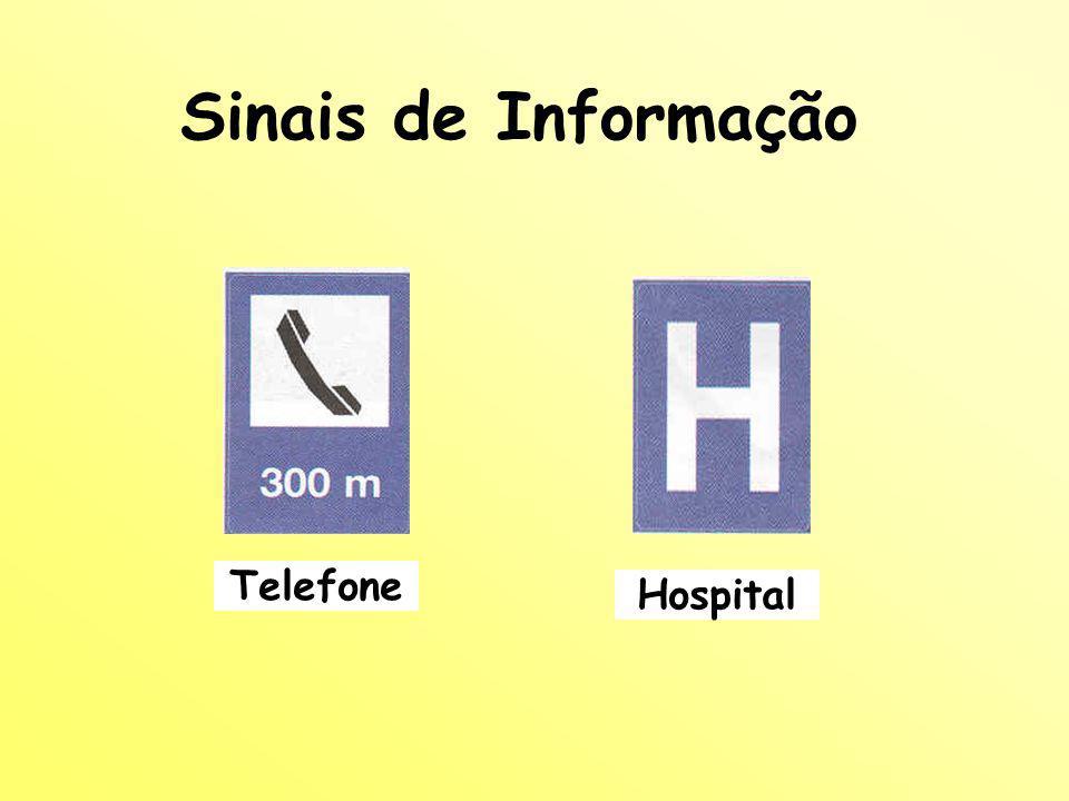 Sinais de Informação Telefone Hospital