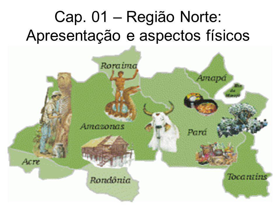 Cap. 01 – Região Norte: Apresentação e aspectos físicos