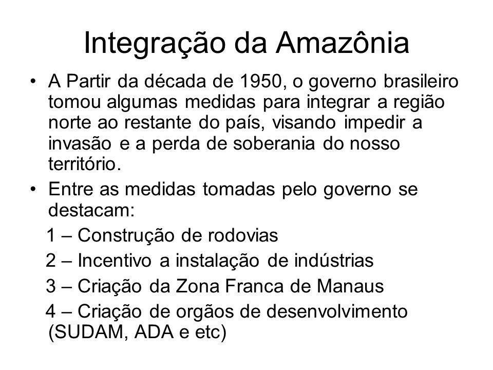 Integração da Amazônia