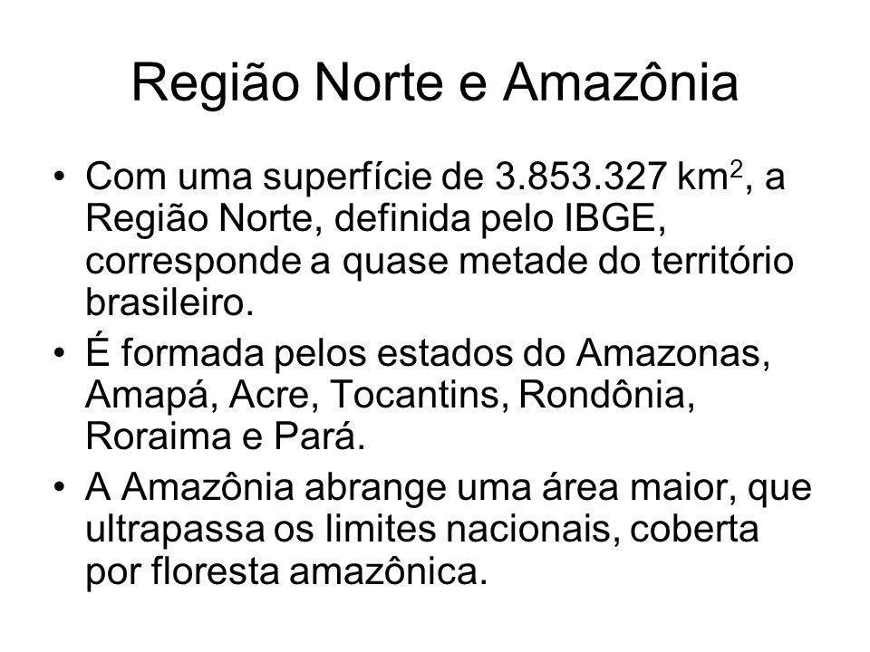 Região Norte e Amazônia