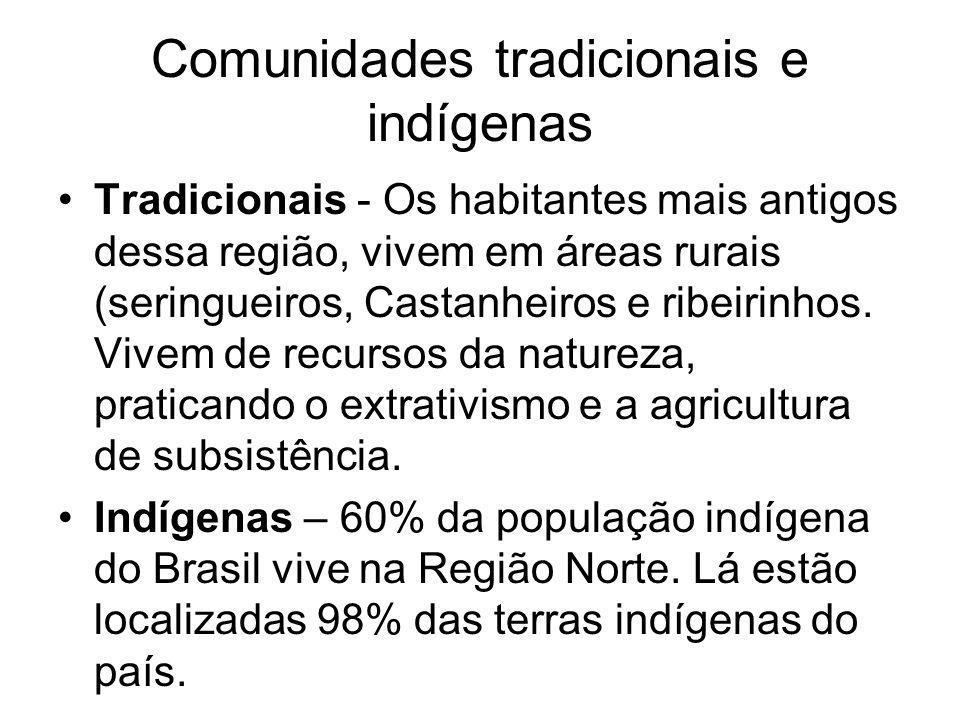 Comunidades tradicionais e indígenas