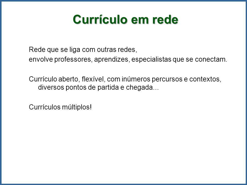 Currículo em rede