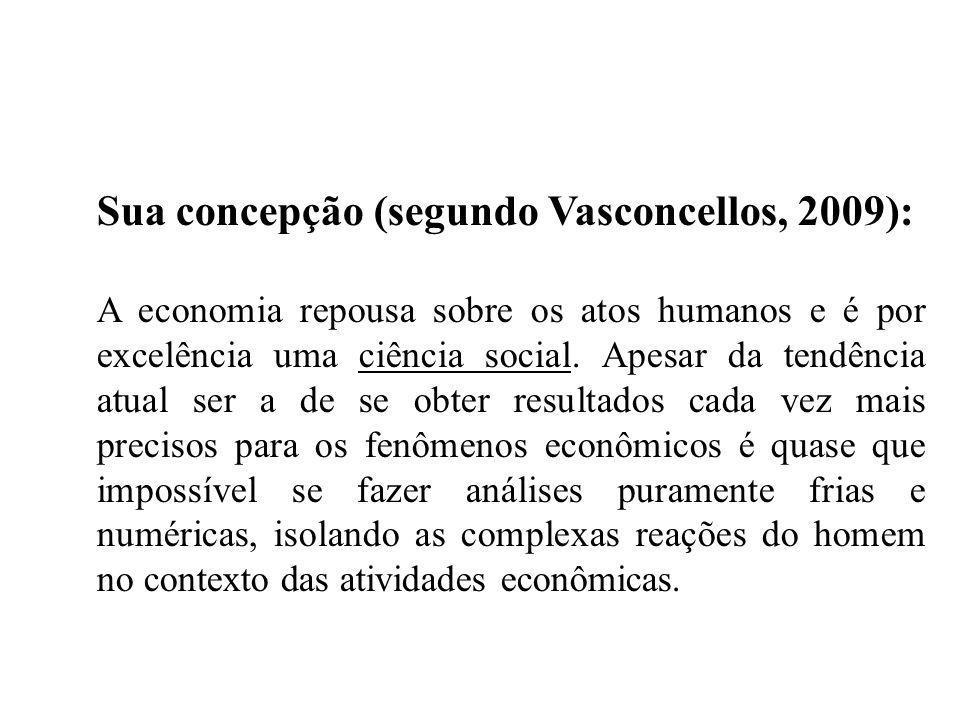 Sua concepção (segundo Vasconcellos, 2009):